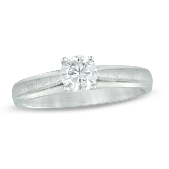 0.50 CT. Certified Canadian Diamond Solitaire Engagement Ring in 14K