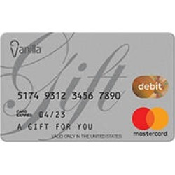 $100 Vanilla eGift Mastercard® Virtual Account