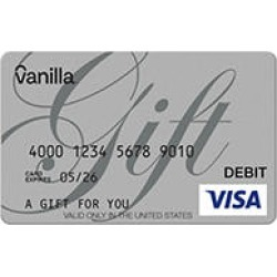 $100 Vanilla eGift Visa® Virtual Account