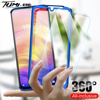 360 Full Body Protective Case For Huawei P40 Lite P30 Pro Y5 Y6 Y7 Pro Y9 Prime 2019 Y6P Y7P 2020 Honor 9X 8X With Glass Cover