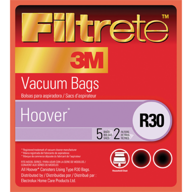 3M Filtrete 64706A Type R30 Hoover Vacuum Bags