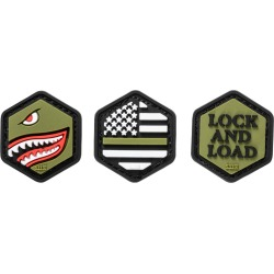 5.11 Tactical Hex Patch Armed Forces Set