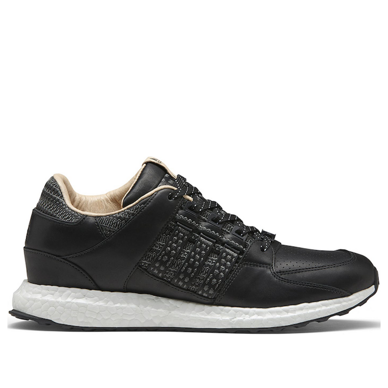 Adidas Avenue x EQT Support 93/16 'Black' Core Black/Core Black/Footwear White Marathon Running Shoes/Sneakers CP9639 (Size: US 7.5)