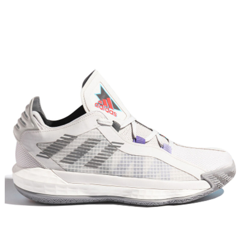 Adidas Dame 6 GCA 'Playoff Pack' Grey One/Grey Three/Bright Cyan Basketball Shoes/Sneakers FX2085 (Size: US 7)