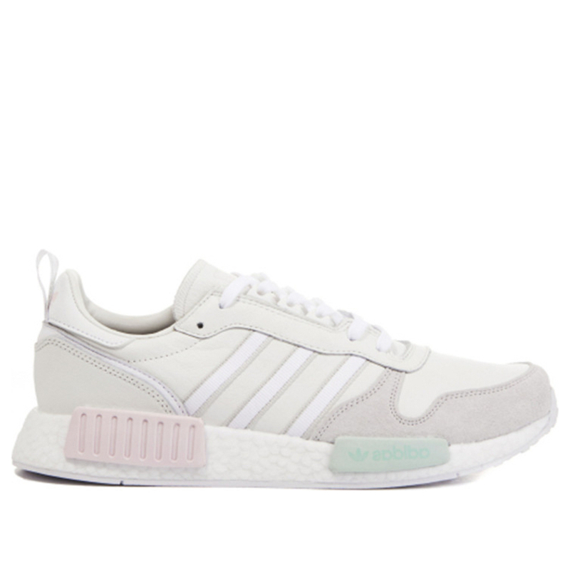 Adidas Rising Star R1 'Triple White' White/White/White Marathon Running Shoes/Sneakers G28939 (Size: US 7.5)
