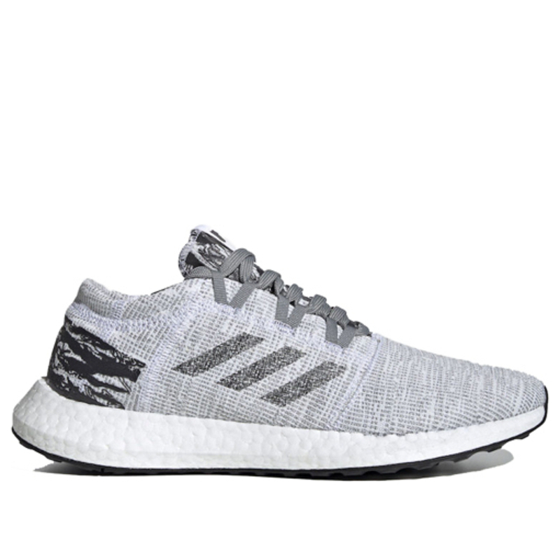 Adidas Undefeated x PureBoost LTD 'Shift Grey' Shift Grey/Cinder/Utility Black Marathon Running Shoes/Sneakers BC0474 (Size: US 10)