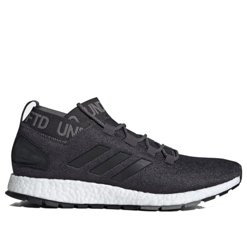 Adidas Undefeated x PureBoost RBL 'Shift Grey' Shift Grey/Cinder/Utility Black Marathon Running Shoes/Sneakers BC0473 (Size: US 10.5)