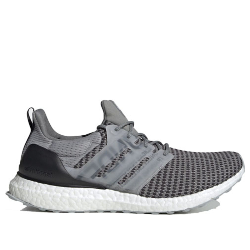 Adidas Undefeated x UltraBoost 'Shift Grey' Shift Grey/Cinder/Utility Black Marathon Running Shoes/Sneakers CG7148 (Size: US 8.5)