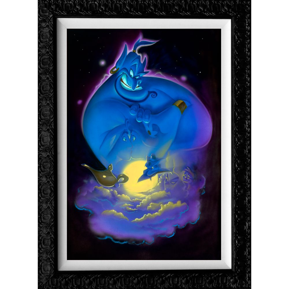 Aladdin ''Your Wish is My Command'' Limited Edition Gicle by Noah Official shopDisney