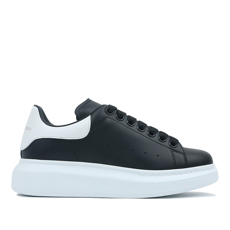 Alexander McQueen Big Sole Sneakers Black 553770WHGP5-1070 (Size: US 6)