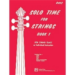 Alfred Etling-Solo Time for Strings, Book 1