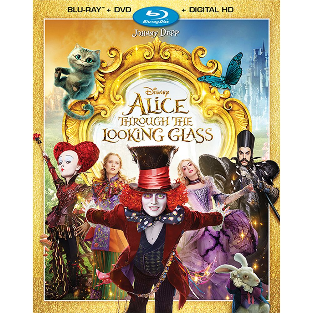 Alice Through the Looking Glass Blu-ray Combo Pack Official shopDisney