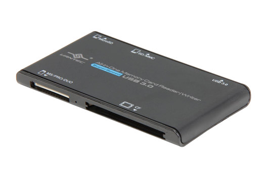 All-in-one External USB 3.0 SuperSpeed Memory Card Reader/Writer