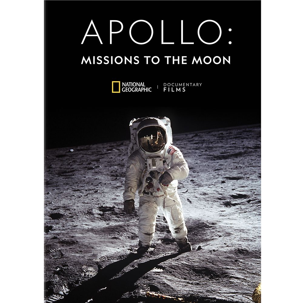 Apollo: Missions to the Moon DVD National Geographic Official shopDisney