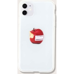 Apple Pattern iPhone Case