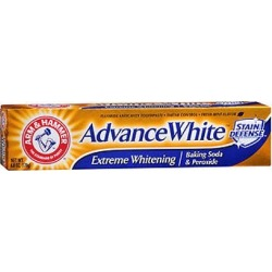 Arm & Hammer Advance White Fluoride Toothpaste Baking Soda And Peroxide 6 oz by Arm & Hammer