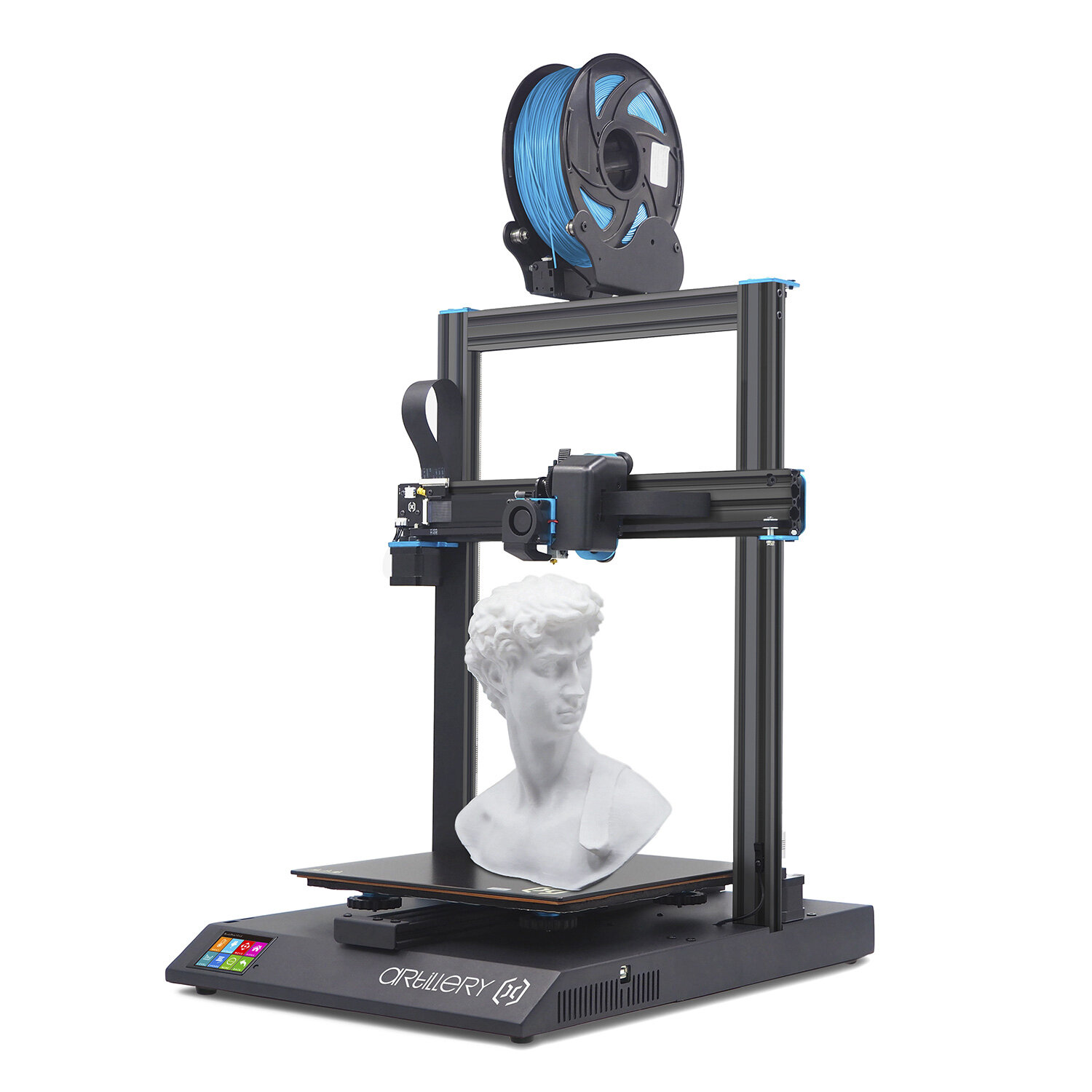 Artillery® Sidewinder X1 3D Printer Kit with 300*300*400mm Large Print Size Support Resume Printing&Filament Runout Dete