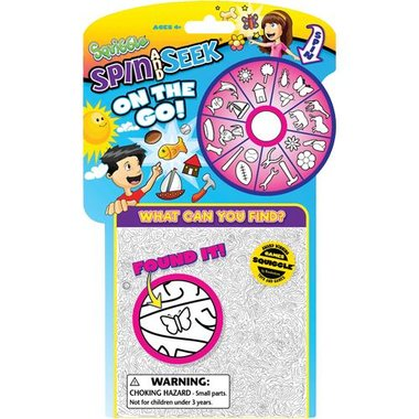 Asmodee SQA01 Squiggle On The Go Spin And Draw