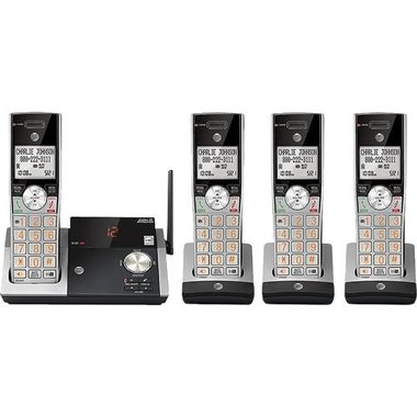 AT&T CL82415 DECT 6.0 Expandable Cordless Phone With Digital Answering System