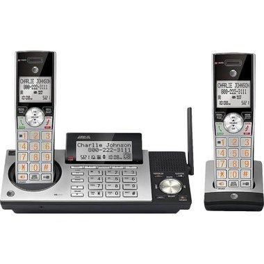 AT&T CL83215 6.0 Expandable Cordless Phone System With Digital Answering Machine
