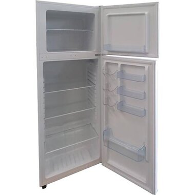 Avanti RA10X0W-IS 10.0 CuFt Built-In Top-Mount Refrigerator In White