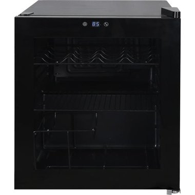 Avanti WBC16Z1B-IS 1.6 CuFt Freestanding Wine Chiller/Beverage Cooler In Black
