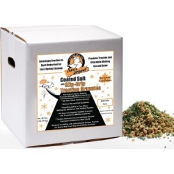 Bare Ground Winter Coated Granular Ice Melt with Traction Granules, 40 lb. Box, CSSLGP-40