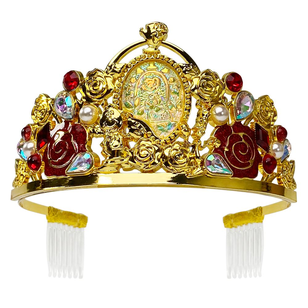 Belle Tiara for Kids Beauty and the Beast Official shopDisney