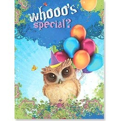 Birthday Card: You, that's who! Happy Birthday