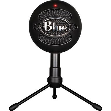 Blue Microphone SNOWBALL ICE BLACK Plug And Play USB Microphone