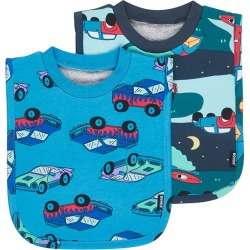 Bonds Tee Bib 2 Pack Monster Truck Rally / Summer Holidays One Size Fits All
