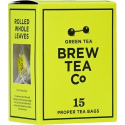 Brew Tea Co Green Tea Bags X 15