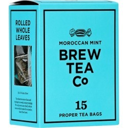 Brew Tea Co Moroccan Mint Tea Bags X 15