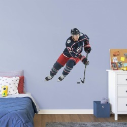 """Cam Atkinson for Columbus Blue Jackets - Officially Licensed NHL Removable Wall Decal Giant Athlete + 2 Decals (39""""W x 46""""H) by"""