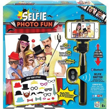 Canal Toys 855635005988 Selfie Stick Photo Booth Fun Kit
