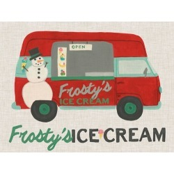 Canvas on Demand Poster Print 16 x 12 entitled Food Truck Holidays IV