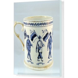 Canvas Print. Booths Silicon china mug - 8 Allies including India