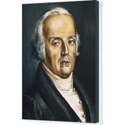 Canvas Print. FRANK, Johann Peter (1745 - 1821). German physician