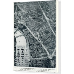 Canvas Print. Londons increased traffic in 1936