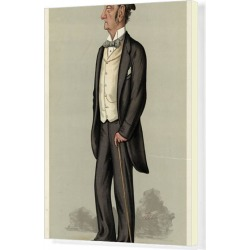 Canvas Print. Lord Justice Barry, Vanity Fair, Lib