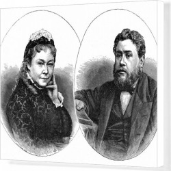 Canvas Print. Spurgeon and Mrs s