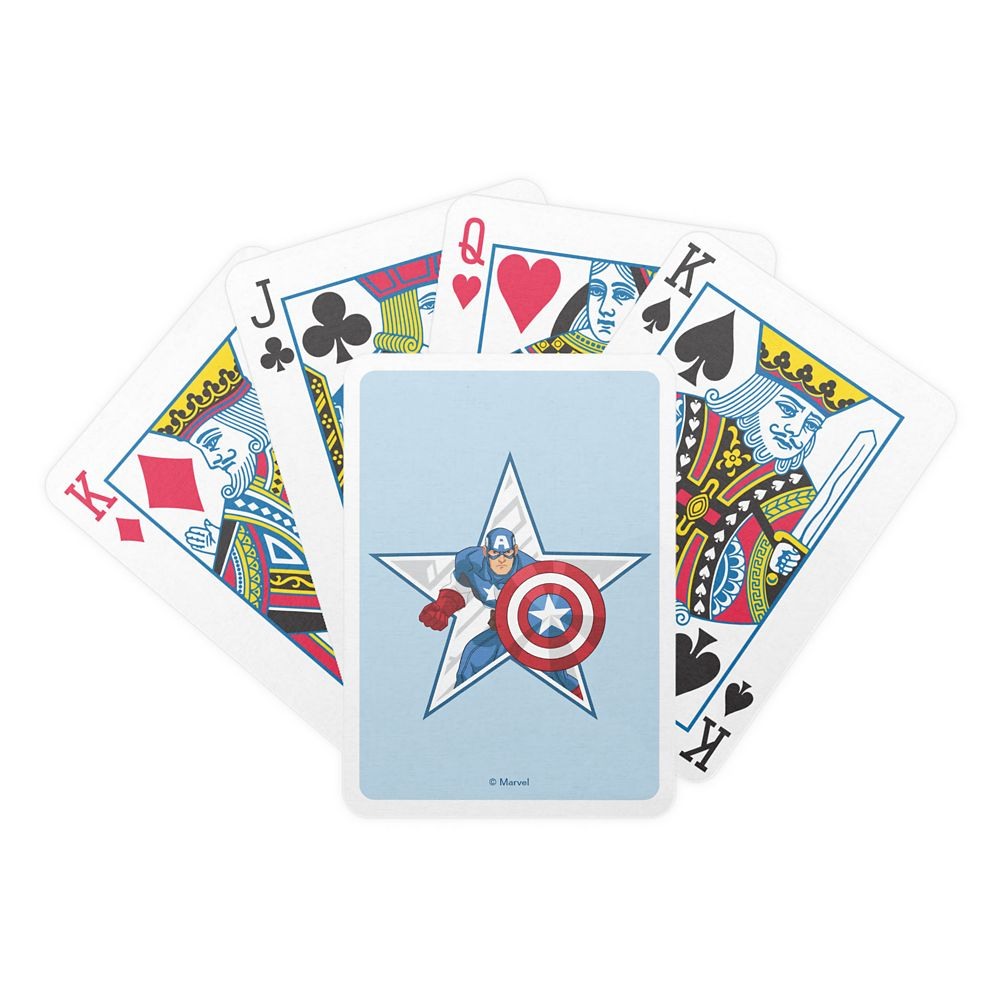 Captain America Playing Cards Customizable Official shopDisney