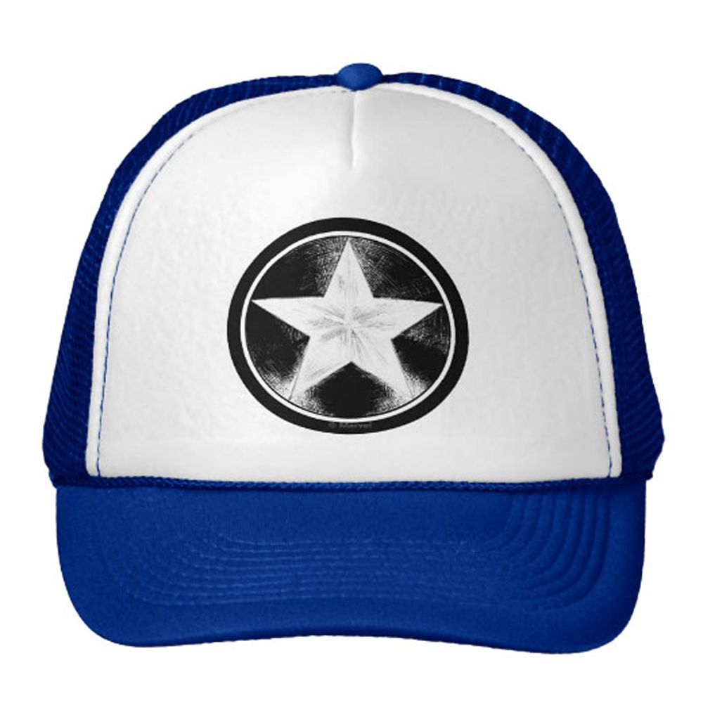 Captain America Trucker Hat for Adults Customizable Official shopDisney