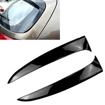 Car Rear Window Side Spoiler Cover Trim for KIA Sportage R 2011-2015