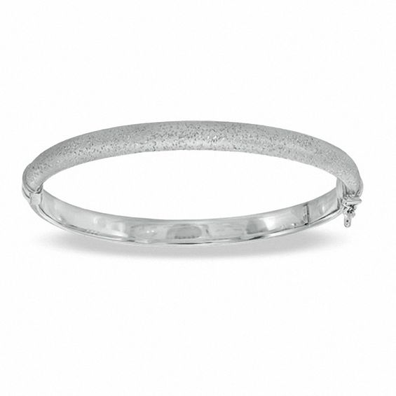 Charles Garnier Bangle in Sterling Silver