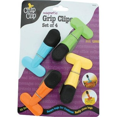 Chip Clip 90012 Set Of 4 Magnetic Grip Clips