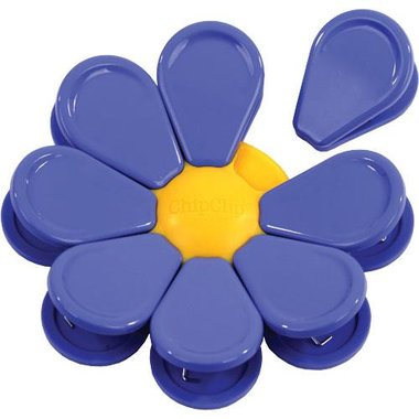 Chip Clip 90134 Set Of 8 Magnetic Blossom Clip
