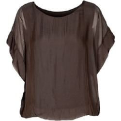 Chocolate Lined S/S Top