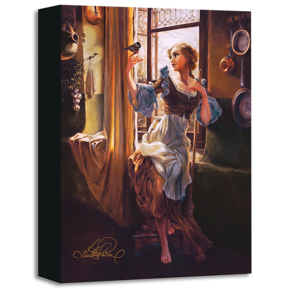 ''Cinderella's New Day'' Gicle on Canvas by Heather Edwards Official shopDisney