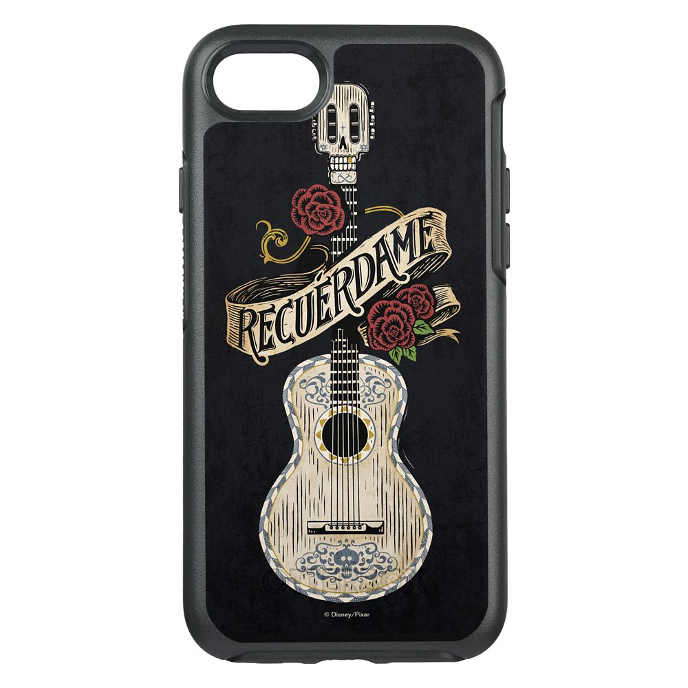 Coco Recuerdame Guitar Graphic OtterBox Symmetry iPhone 8/7 Case Official shopDisney